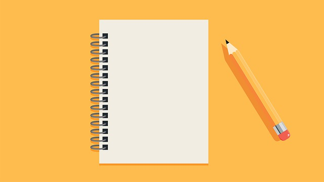 Notebook Pencil Flat Design Media  - neotam / Pixabay